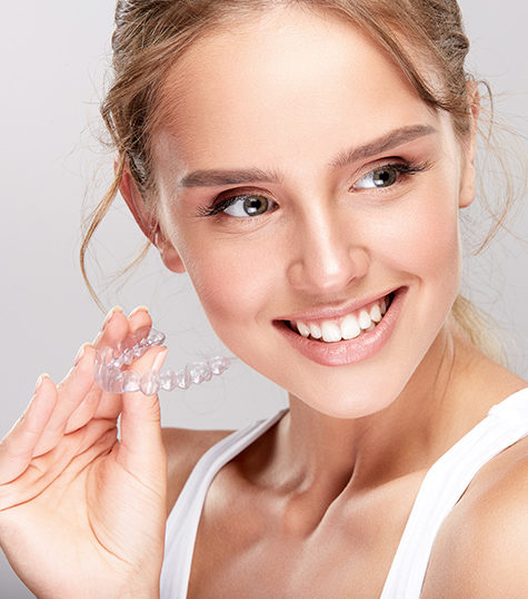 Women with Invisalign