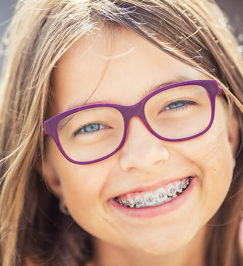 kids with braces
